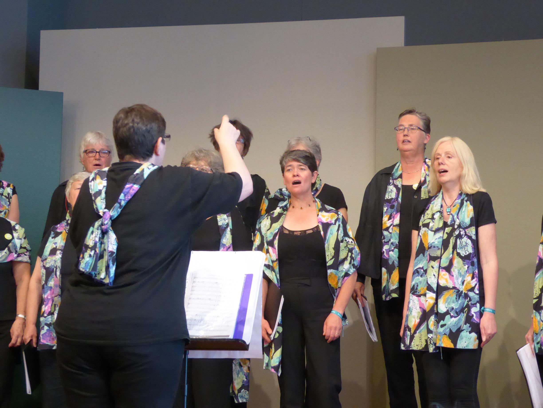 Performing in Stuttgart 2016