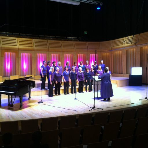 Radio 3 recording 'The Choir' 2015