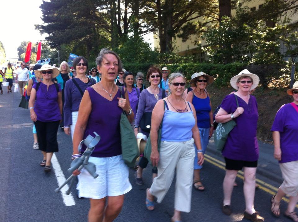 Aberystwyth street music festival procession 2013