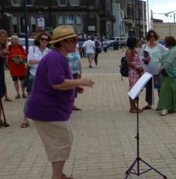 Busking Street Choirs Festival 2013