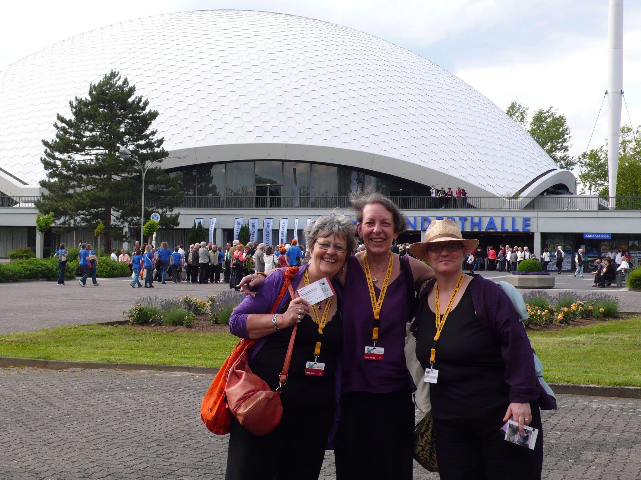 Frankfurt 2012 Tracey, Margot and Belinda