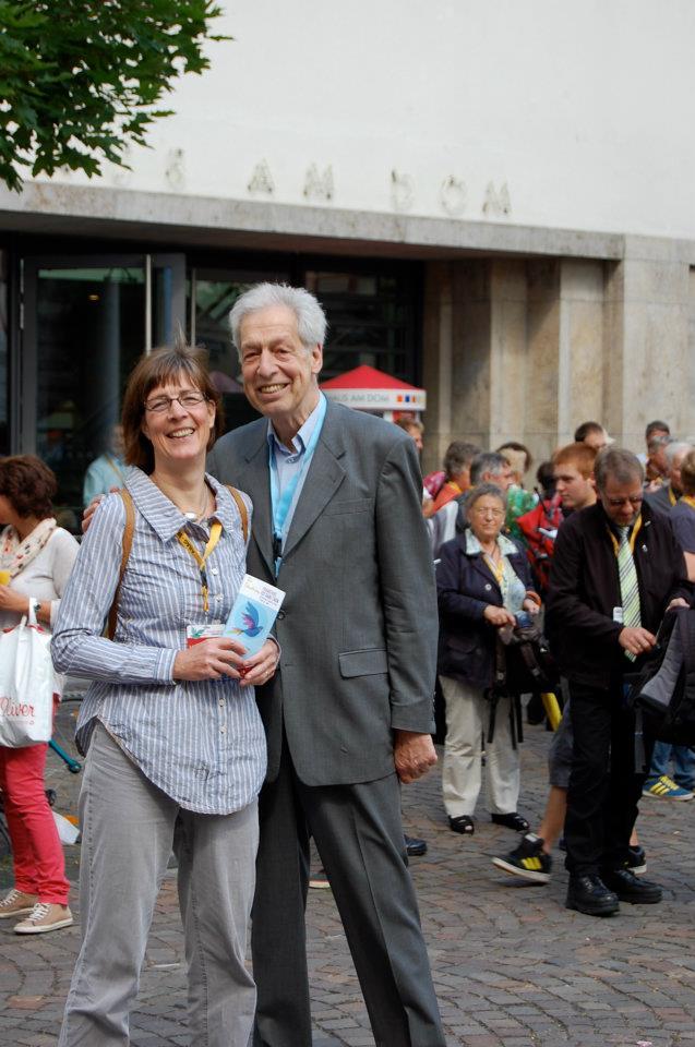 Frankfurt 2012 Caroline and Henning Scherf